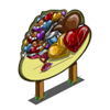 Giant Chocolate Heart Mastery Sign-icon