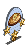 Bush Bread 3 Star Mastery Sign-icon