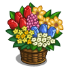 Bouquet Bucket-icon