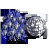Disco Ball Tree-icon