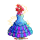 Bride Gown Tree-icon