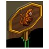 Gold Lion Tamarin Mastery Sign-icon