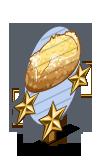 Potato and Onion Bread 3 Star Mastery Sign-icon