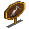 Roseate Spoonbill Mastery Sign-icon