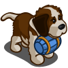 Blue St. Bernard Puppy-icon