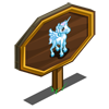 Icy Blue Pegacorn Foal Mastery Sign-icon