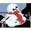 Melting Snowman-icon