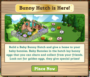 Baby Bunny Hutch Notification