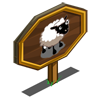 Sheep Mastery Sign-icon