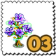 Arabic Bloom Tree Stamp-icon