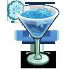 Snowflake Cocktail-icon