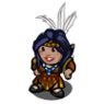 Pocahontas Gnome-icon.png
