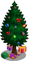 Holiday tree 20-39 gifts