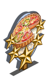 Vegetable Tart 5 Star Mastery Sign-icon