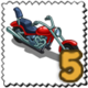 Cruise Bike Stamp-icon