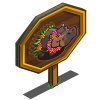 Hula Dancer Hippo Mastery Sign-icon