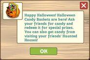 Halloween Candy Basket