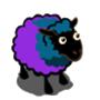 Blue Violet Sheep