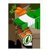 Organic Carrot Stall-icon