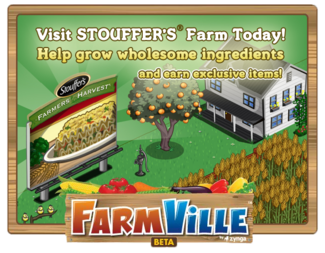 Stouffer's Promotion Loading Screen