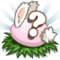 Pink Baby Bunny Eggs Stage 8-icon