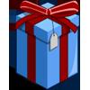 Blue Present-icon