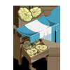 Pattypan Squash Stall-icon