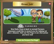 Farmers Insurance Farm Thank You