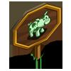 Shamrock Pig Mastery Sign-icon