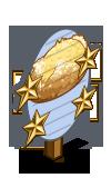 Potato and Onion Bread 4 Star Mastery Sign-icon