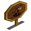 Chocolate Calf Mastery Sign-icon