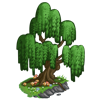 Green Willow Tree-icon