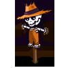Skele-scarecrow-icon