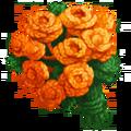 Bouquet of Orange Yarn Flowers.png