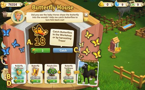 Butterfly House working