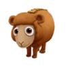Baby Teddy Sheep