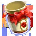 Bottle of Rose Jelly