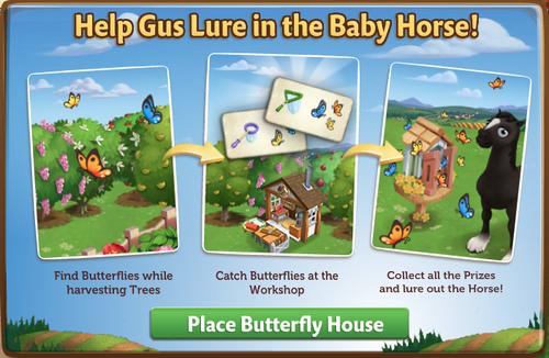 Butterfly House start