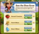 Sow the Slow Grow