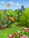 Butterfly at FarmVille2
