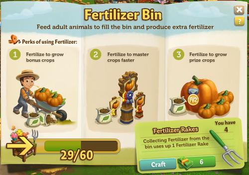 Fertilizer Bin working