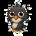 Baby Black Leghorn Chicken.png
