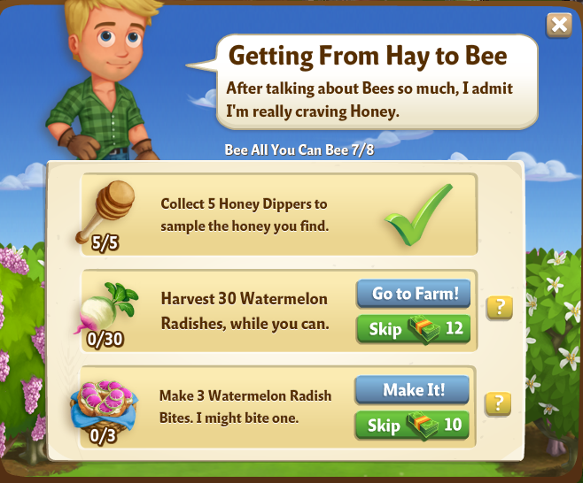 Gettingfromhaytobee
