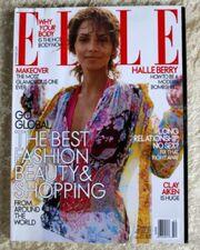 ELLE Nr.218-10.2003-US Ausgabe Halle Berry