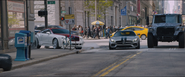 Roman's Bentley, Tej's Mercedes & Luke's truck (NYC - F8)