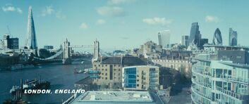 London - Furious 7