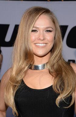 Ronda Rousey Furious 7 LA Premiere