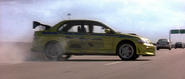 Freeway Stunt - Evo VII Side View