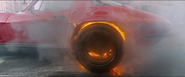 Burning Tire (1966 C2 Sting Ray)