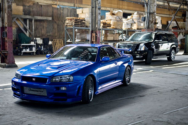 2002 Nissan Skyline Gt R R34 Fast And Furious